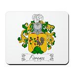 Fiorenza Family Crest Mousepad