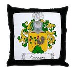 Fiorenza Family Crest Throw Pillow