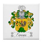 Fiorenza Family Crest Tile Coaster