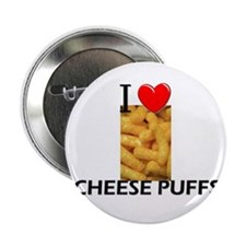 "I Love Cheese Puffs 2.25"" Button (10 pack)"