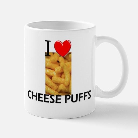 I Love Cheese Puffs Mug