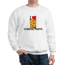 I Love Cheese Puffs Sweatshirt