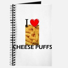 I Love Cheese Puffs Journal