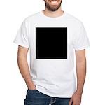 flatWorldWhite T-Shirt