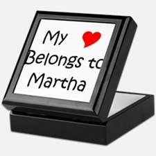 Cute Martha Keepsake Box