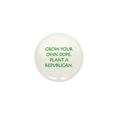 Grow Your Own Dope Mini Button (10 pack)