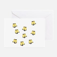 Little Rainboots Picture Greeting Card
