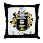 Fontana Family Crest Throw Pillow
