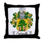 Fontanella Family Crest Throw Pillow