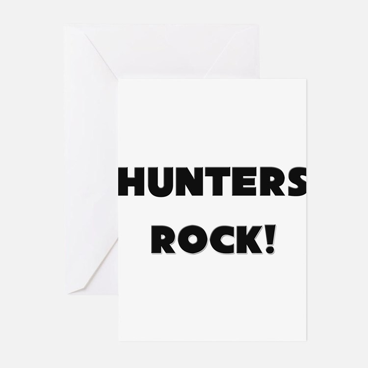 Hunters ROCK Greeting Cards (Pk of 10)