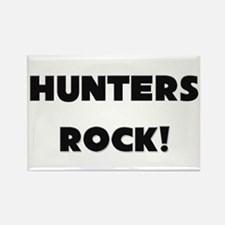 Hunters ROCK Rectangle Magnet