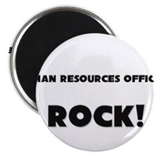 Human Resources Officers ROCK Magnet