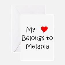 My heart belongs to daryl Greeting Card