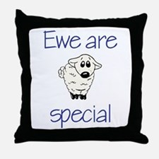 Ewe are special Throw Pillow