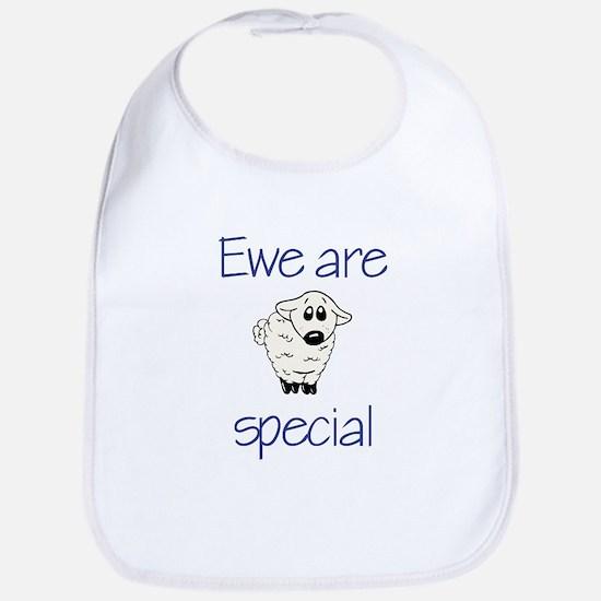 Ewe are special Bib