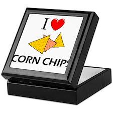 I Love Corn Chips Keepsake Box