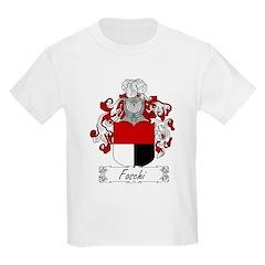 Foschi Family Crest Kids T-Shirt