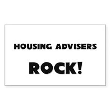 Housing Advisers ROCK Rectangle Decal