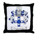Franceschini Family Crest Throw Pillow