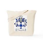 Franceschini Family Crest Tote Bag