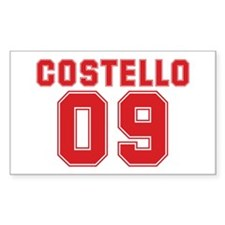 COSTELLO 09 Rectangle Decal