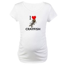 I Love Crayfish Shirt