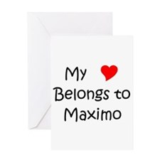 Maximo's Greeting Card