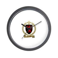 GOYETTE Family Crest Wall Clock