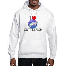 I Love Cuttlefish Hoodie