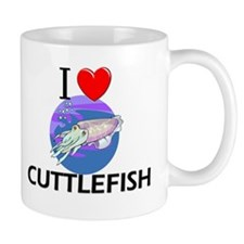 I Love Cuttlefish Mug