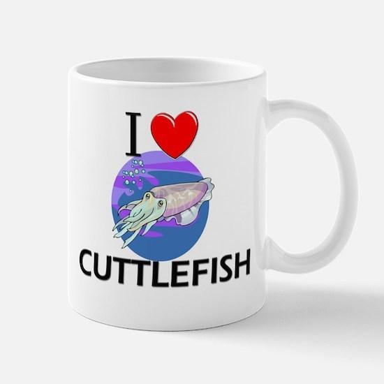 I Love Cuttlefish Mug