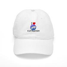 I Love Cuttlefish Baseball Cap