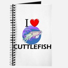 I Love Cuttlefish Journal