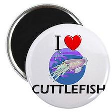 I Love Cuttlefish Magnet