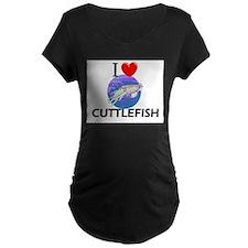 I Love Cuttlefish T-Shirt