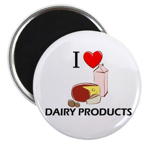 """I Love Dairy Products 2.25"""" Magnet (10 pack)"""