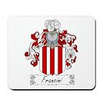 Francini Family Crest Mousepad