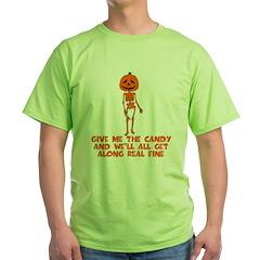 Halloween scary Pumpkinhead T-Shirt
