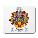 Francone Family Crest Mousepad