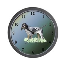 bluetick coonhound Wall Clock