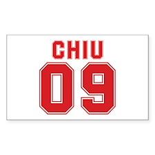 CHIU 09 Rectangle Decal