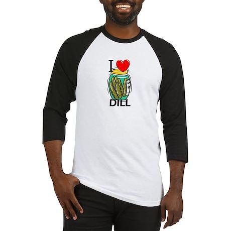 I Love Dill Baseball Jersey