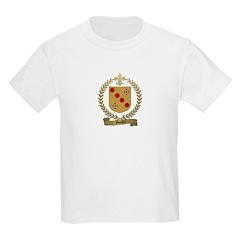 GOULET Family Crest Kids T-Shirt
