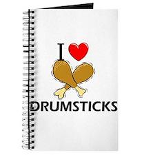 I Love Drumsticks Journal