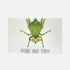"""Beetle """"Bug"""" Eyes On You Rectangle Magnet"""