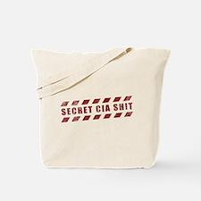 Secret CIA Shit Tote Bag