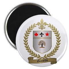 GOSSELIN Family Crest Magnet