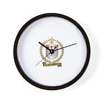 GOSSELIN Family Crest Wall Clock
