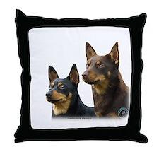 Lancashire Heeler 9T003D-074 Throw Pillow