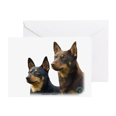 Lancashire Heeler 9T003D-074 Greeting Card
